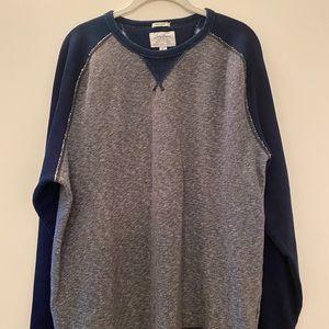 NWOT- LUCKY BRAND-Men's Gray Label Sweatshirt